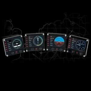 Panel instrumental para vuelo